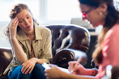 psychotherapy coaching session